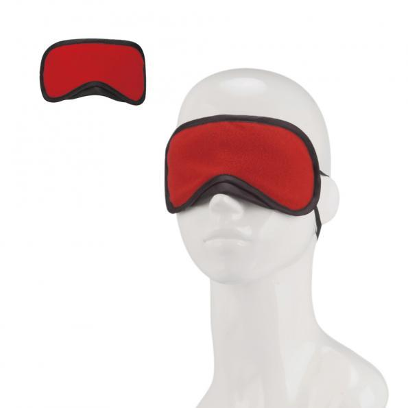 Lux Fetish Peek-A-Boo Love Mask Red O/S