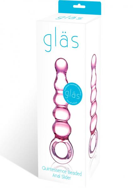 Quintessence Beaded Glass Anal Slider