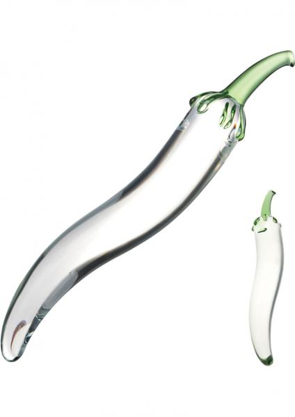 Glas Glass Naturals Chili Pepper Dildo