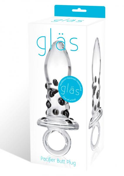 Glas Pacifier Glass Butt Plug