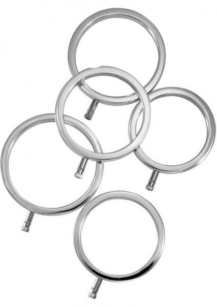 ElectraStim Metal C Ring 5 Pack