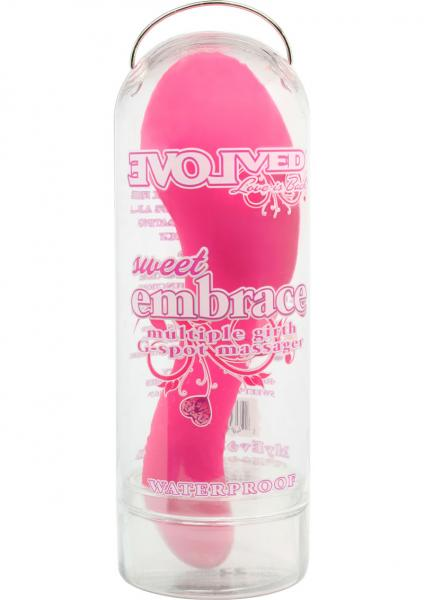 Sweet Embrace G Spot Massager Waterproof Pink
