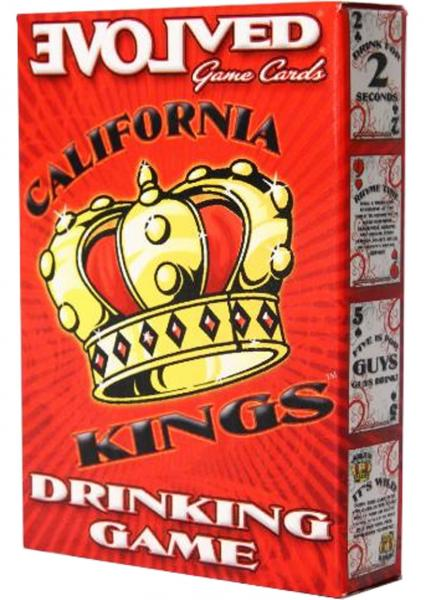 California Kings Drinking Card Game
