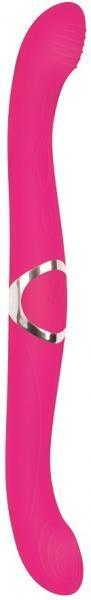 Coupled Love Silicone Double Ended Pink Vibrator