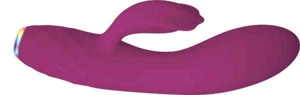 Glimmer Rechargeable Light Up Purple Vibrator