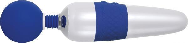 On The Dot Super Wand Massager Blue