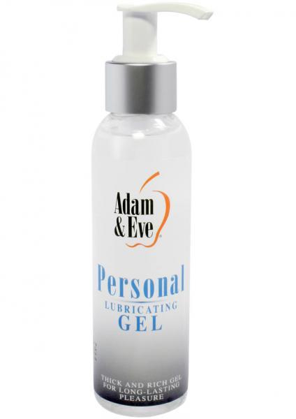 Adam & Eve Personal Water Based Lubricating Gel 4 Ounce