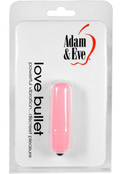 Adam & Eve Love Bullet Waterproof Pink 2.25 Inch