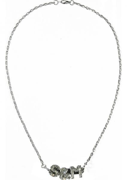Sex And Mischief S&M Silver Necklace