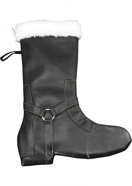 Tease The Season Stocking Boot 15 Inch Black