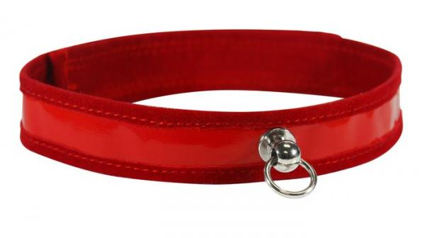 Sex and Mischief Red Day Collar O/S