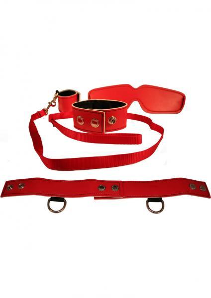 Sex And Mischief Red Bondage Kit