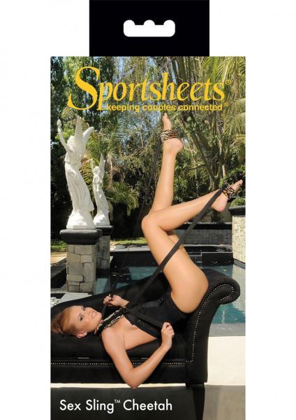 Sportsheets Sex Sling Cheetah