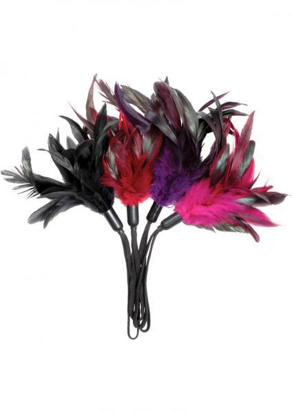 Pleasure Feather 12 Per Set Assorted Colors