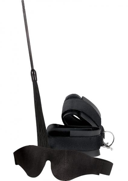 Romantic Restraint Kit 3 Piece Black