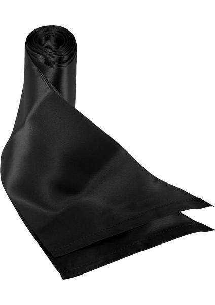 Sex And Mischief Beginners Silk Sash Restraints Black