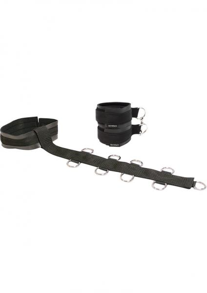 Neck And Wrist Restraint - Black