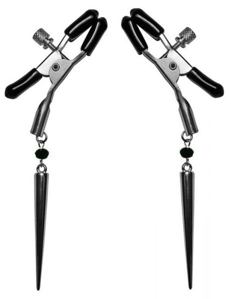 Silver Spears Nipple Clamps