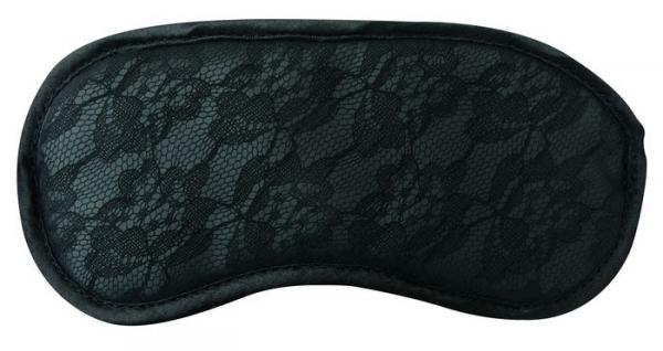 Midnight Lace Blindfold Black O/S