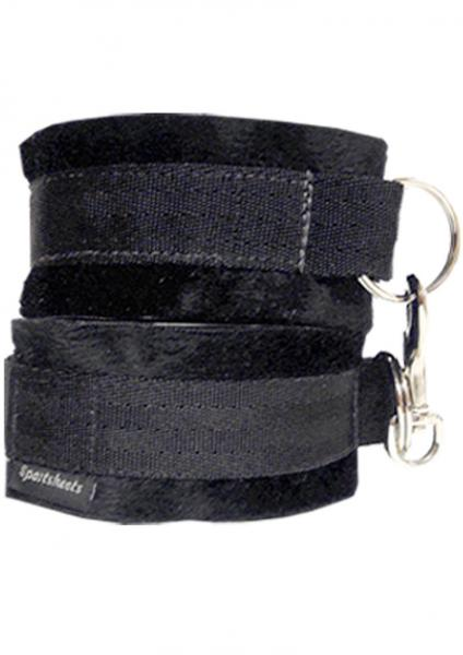 Sportsheets Soft Cuffs Black