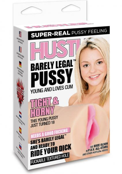 Hustler Toys Barely Legal Pussy Masturbator Flesh
