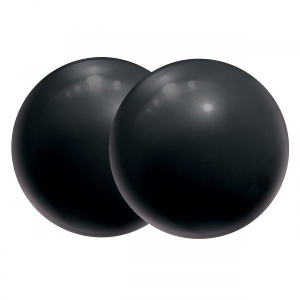 Silicone Ben Wa Balls Black