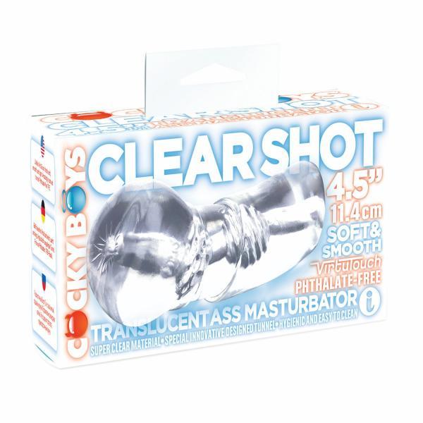 Clear Shot Pearl Ass Masturbator