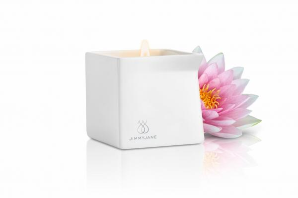 Afterglow Natural Massage Candle Pink Lotus