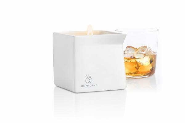 Afterglow Natural Massage Candle Bourbon