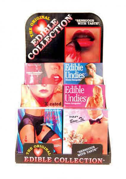 The Original Edible Collection Display 24 Assorted Packages
