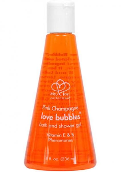Pink Champagne Love Bubbles Bath And Shower Gel With Pheromones 8 Ounce