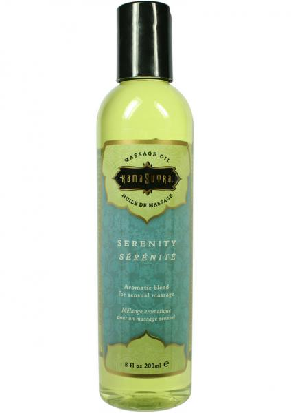 Aromatic Massage Oil Serenity 8 Ounce