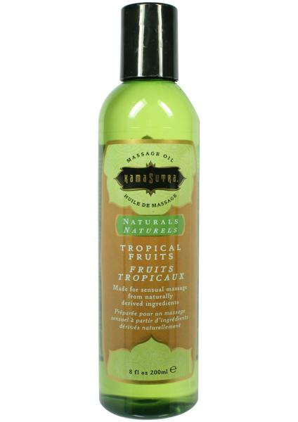 Naturals Massage Oil Tropical Fruits 8 Ounce