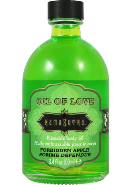 Oil Of Love Kissable Body Oil Forbidden Apple 3.4 Ounce