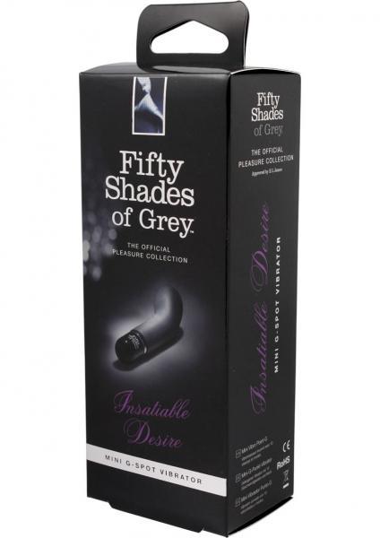 Fifty Shades Of Grey Insatiable Desire Mini G-Spot Vibrator