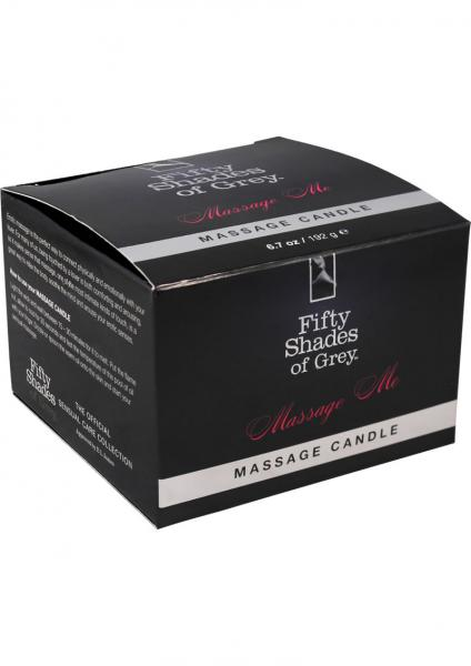Fifty Shades Of Gray Massage Me Massage Candle 6.7 oz