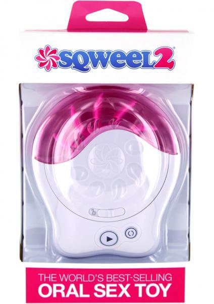 Sqweel 2 Oral Sex Simulator White