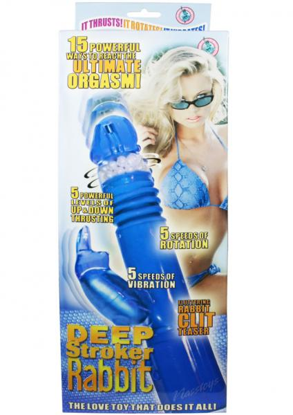 Deep Stroker Rabbit Vibe With Clit Stimulator