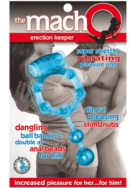 Macho Erection Keeper C Ring - Blue