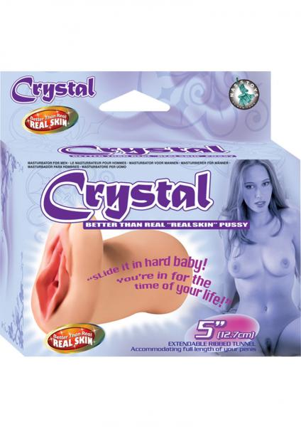 Crystal Better Than Real Real Skin Pussy Flesh