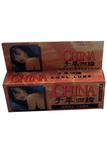 China Anal Lube Natural 4 Ounce