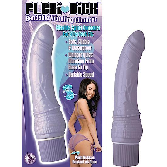 Flexi Dick Bendable Vibrating Climaxer Lavender