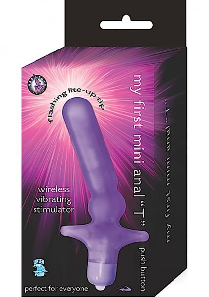 My First Mini Anal T Waterproof Purple