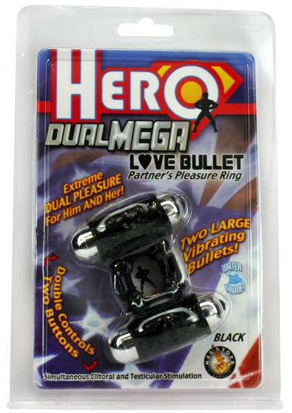 Hero Dual Mega Love Bullet Black