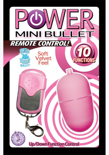 Power Mini Bullet Remote Control Waterproof 2.25 Inch Pink