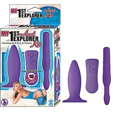 My 1st Anal Explorer Kit Waterproof Purple