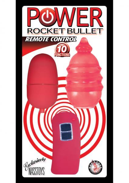 Power Rocket Remote Control Bullet Waterproof Red