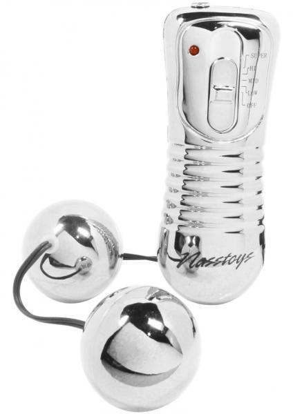 Nen Wa Balls Waterproof Vibrating Balls - Silver