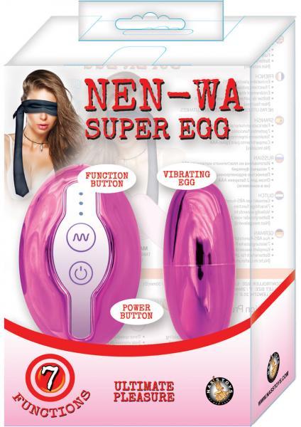 Nen Wa Super Egg Vibrator Pink