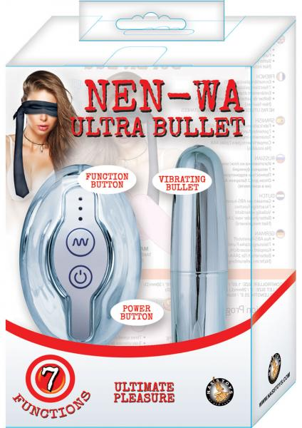 Nen Wa Remote Control Ultra Bullet Waterproof Silver